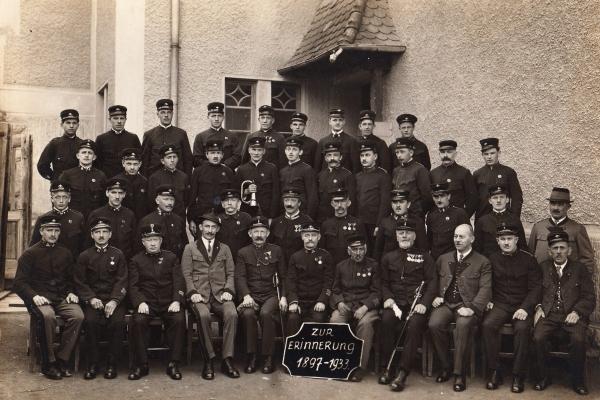 Gruppenbild 1933