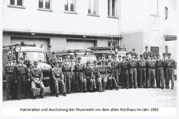 Mannschaft und Ausrüstung 1965
